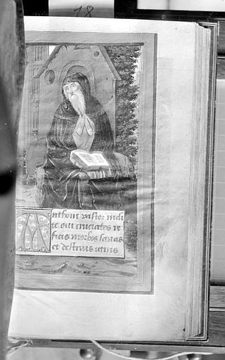 Manuscrit sur velin : Les Heures de la Vierge