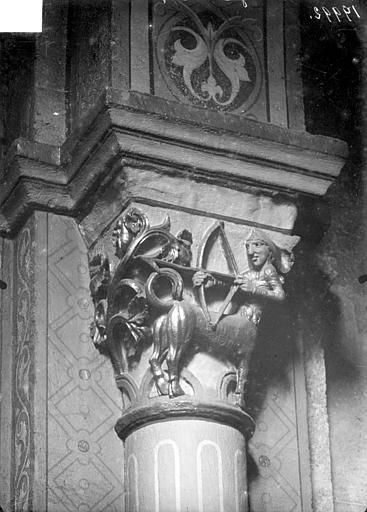 Chapiteau : Centaure tirant à l'arc