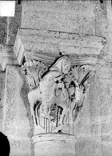 Chapiteau : Balaam et un âne