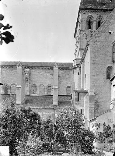 Façade nord : Transept et clocher