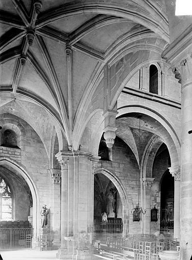 Tribune d'orgue : Voûte