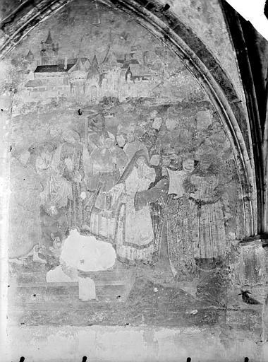 Peinture murale : La Résurrection de Lazare