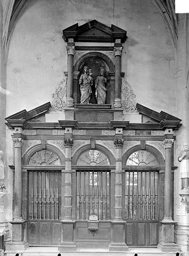 Sainte-Chapelle : Porte