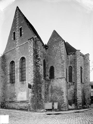 Façade sud : Transept et abside