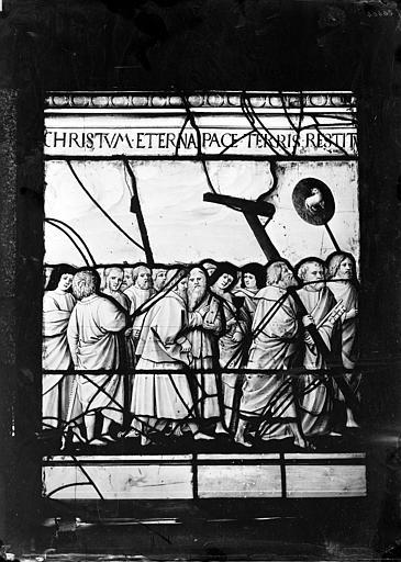 Vitrail : Portement de croix
