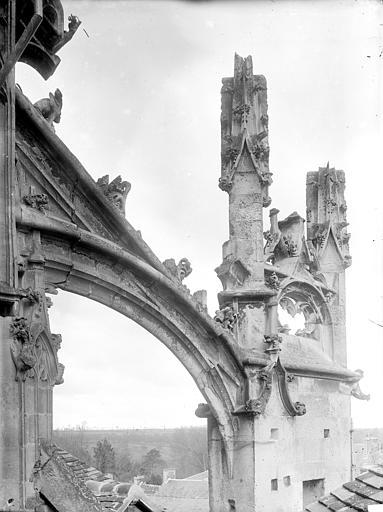 Arc-boutant de l'abside, côté sud