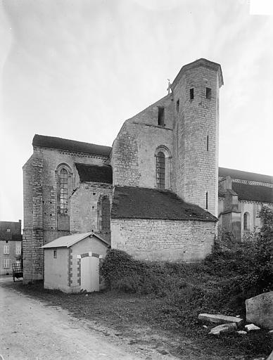 Façade nord : Abside et transept