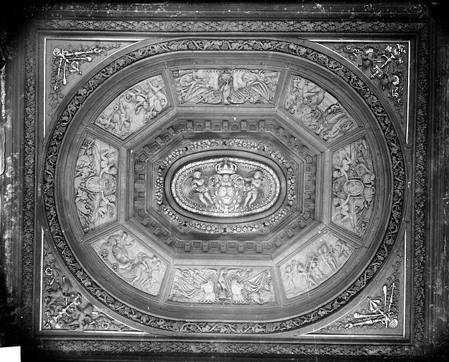 Salle des Assises : Plafond