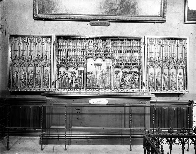 Retable des Ducs de Bourgogne : Vie des saints