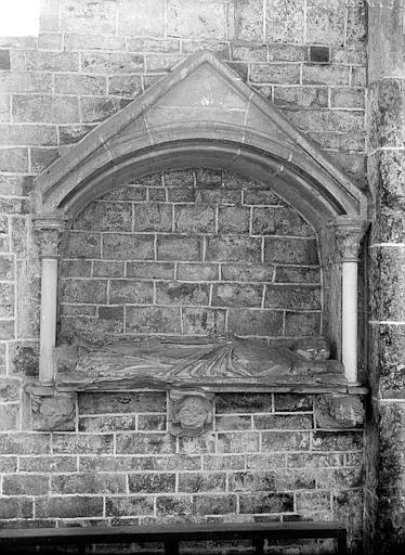 Monument funéraire dit de Héribert, évêque d'Auxerre