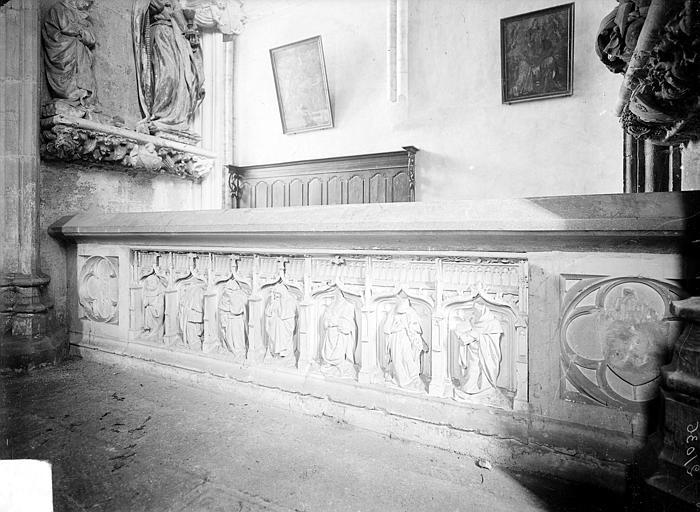 Tombeau d'Amé de Chalon, abbé de Baume