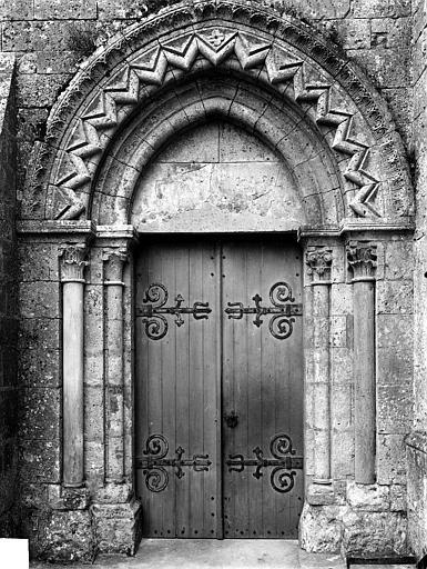 Portail nord de la façade ouest