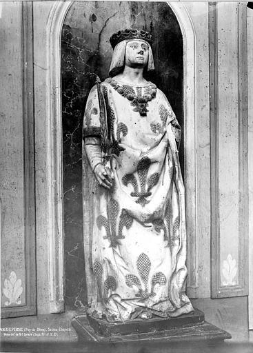 Statue en marbre blanc : Louis XII
