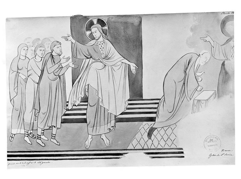 Peinture murale d'après le relevé de Joly-Leterme