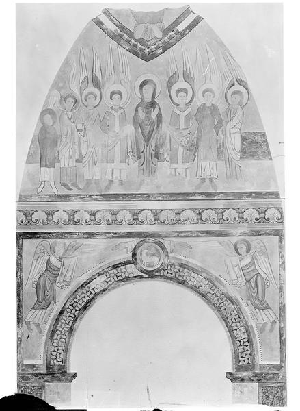 Peinture murale d'après le relevé de Denuelle
