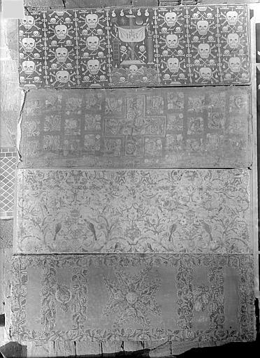 Parement d'autel pour cérémonies mortuaires