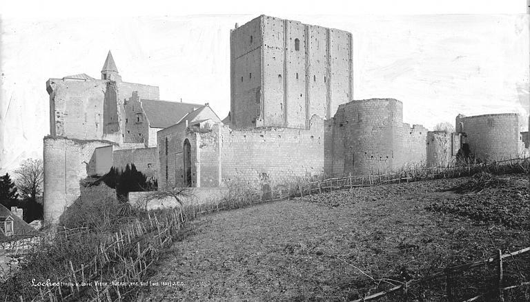 Vieux Château : Ensemble sud