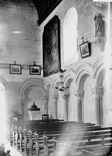 Arcature de la nef, au nord