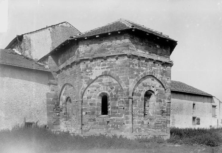 Eglise, abside