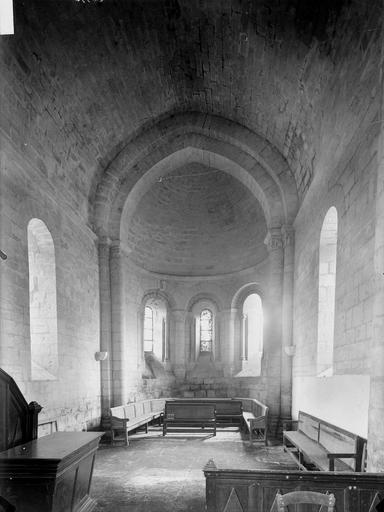 Ancienne église, Temple protestant