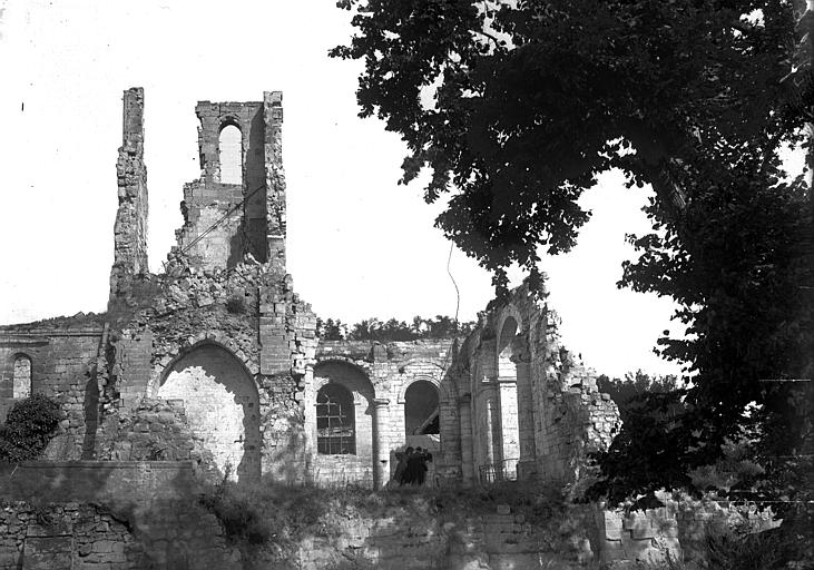 Ruines, côté sud
