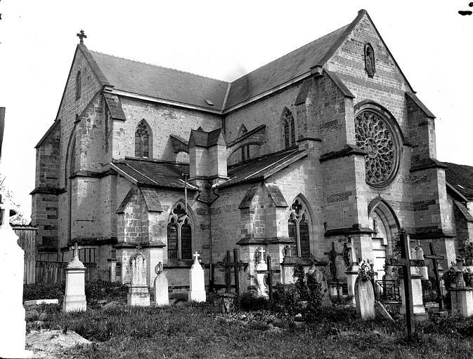 Eglise, ensemble nord-ouest
