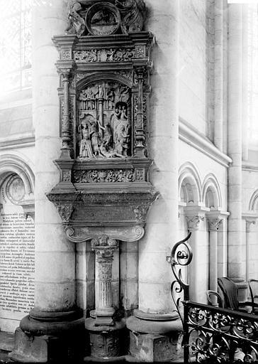 Monument funéraire de Sidrach de Lalaing : Sidrach Misach et Abdenago jetés dans la fournaise