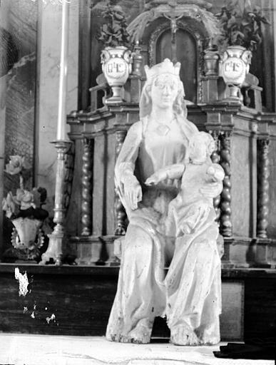 Statue, la Vierge et l'Enfant