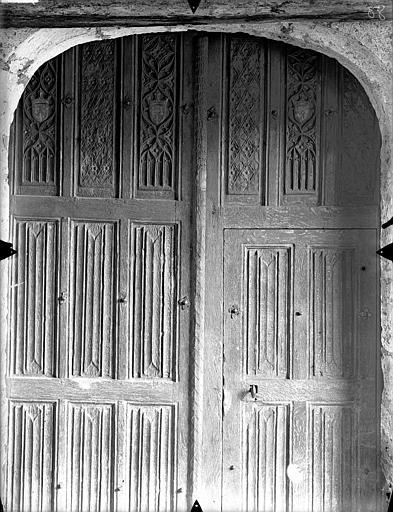 Vantaux de la porte occidentale