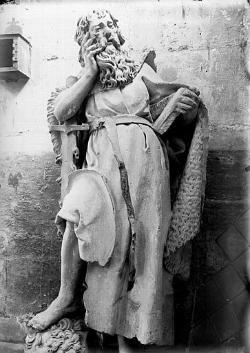 Statue : le prophète Elie, dit saint Paul