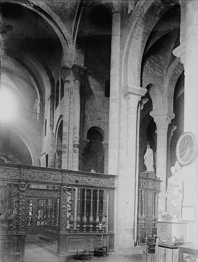 Clôture de choeur (ensemble du décor de choeur)