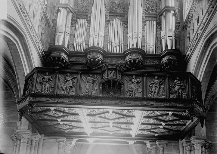 Orgue de tribune : tribune d'orgue