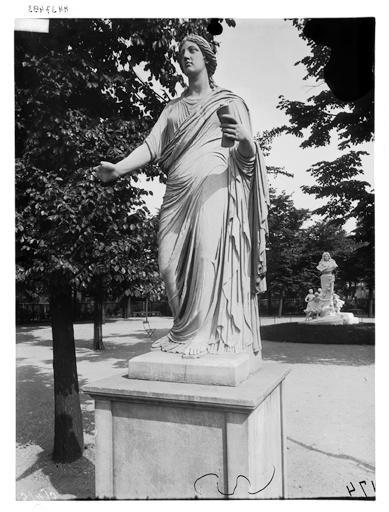Statue de Polymnie, Clio, l'Eloquence