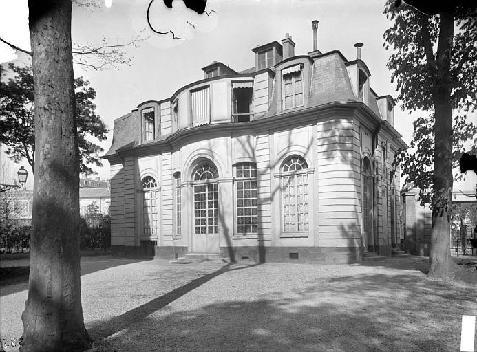 Façade sur jardin, pavillon de l'Ermitage