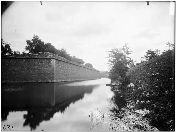 Vue des fortifications