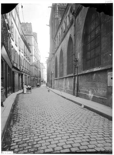 Vue générale sur rue