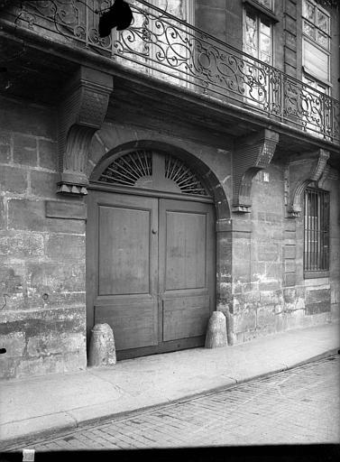 Portail et balcon