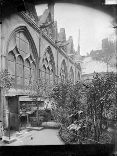 Cour du presbytère