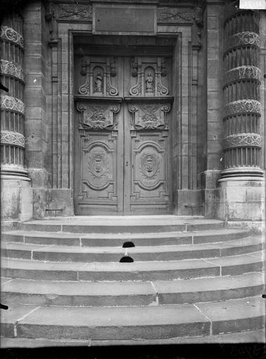 Vue du portail