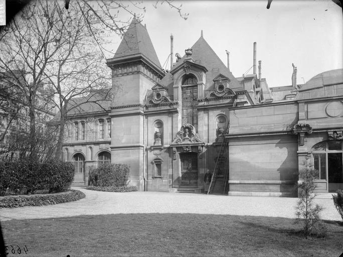 Oratoire de Marie de Médicis : façade principale