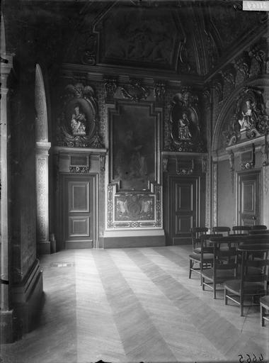 Oratoire de Marie de Médicis : intérieur