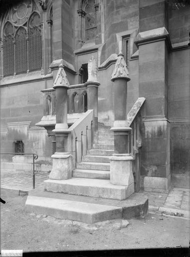 Vue extérieure de la sacristie