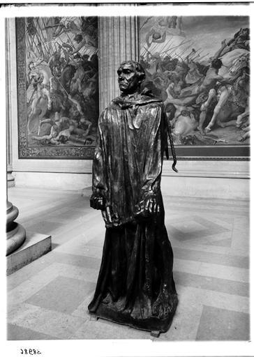 Groupe sculpté : Les Bourgeois de Calais