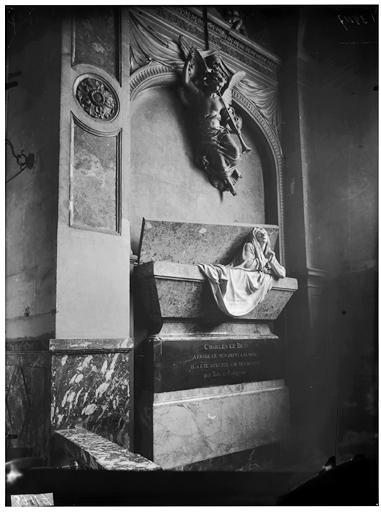 Tombeau de la mère de Charles le Brun
