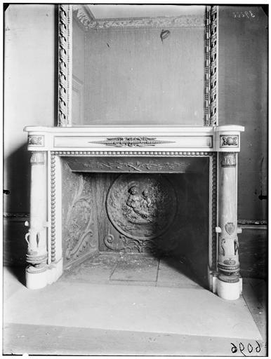Taque de cheminée, chambre du comté d'Artois