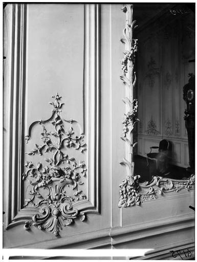 Lambris du salon de la duchesse du Maine