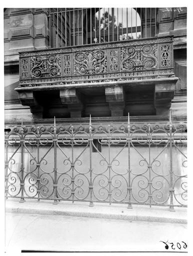 Balcon de Charles IX, galerie du bord de l'eau