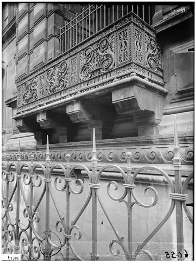 Galerie du bord de l'eau, balcon de Charles IX