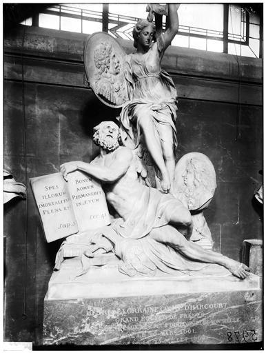 Tombeau de Henri de Lorraine, tombeau du comté d'Harcourt