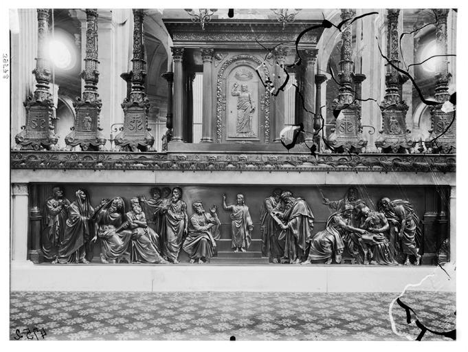 Maître-autel : ensemble